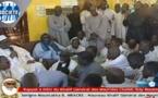 TOUBA : Le Président Macky SALL a présenté ses condoléances à la communauté mouride(vidéo)