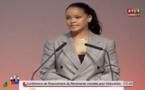 Conférence de Dakar : Discours de Rihanna(vidéo)