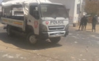 Décès de Fallou SENE à l'UGB: Les étudiants de l'UCAD brûlent un véhicule de police(vidéo)