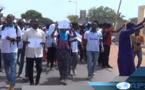 Education-Saint-Louis: Marche de protestation des étudiants contre la mort de Fallou SÈNE