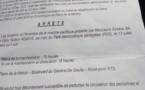 DOCUMENT: La marche de l'opposition autorisée par le Préfet de Dakar