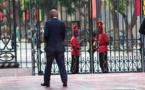 L'homme à la silhouette élancée , cheveux gris et costumes élégants Bruno Diatta le digne serviteur de l'Etat