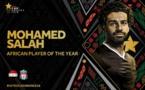 #CAFAWARDS2018 : Mohamed Salah sacré meilleur joueur africain de l'année