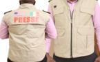 L'Etat annule la distribution des gilets aux journalistes pour la couverture de la campagne