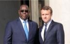 Emmanuel Macron felicite Macky Sall pour sa réélection