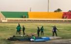 Quelques images du premier entraînement des lions au stade Lat Dior