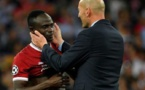 Zidane a Sadio Mané en ligne de mire