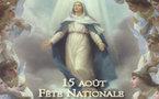 Fête de l'Assomption : L'élévation de Marie au ciel célébrée ce lundi 15 août