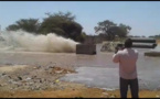 Vidéo: les images impressionnantes de l'éclatement d'un conduit de la SDE