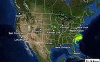 Irène vers New-York : état d'urgence décrété de la Caroline du nord à New-York