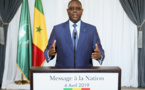 MESSAGE A LA NATION DE SON EXCELLENCE MONSIEUR LE PRESIDENT MACKY SALL A L'OCCASION DE LA CELEBRATION DU 59e ANNIVERSAIRE DE L'INDEPENDANCE DU SENEGAL