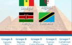 CAN 2019: Le Sénégal hérite de l'Algérie, du Kenya et de la Tanzanie