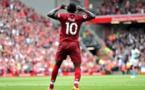 Sadio Mané, seul africain présent dans la 11 type de la Premier League