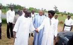 Visite du Guide du parti de la vérité, Cheikh Ahmadou KARA Mbacké, accompagné des membres de son bureau politique, au président de Rewmi,Mr Idrissa Seck.