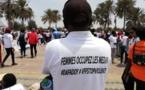 Gros rassemblement à la place de la nation pour dire dafadoy aux violences faites aux femmes