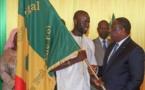 CAN 2019: Les lions ont reçu le drapeau national des mains du Président de la République