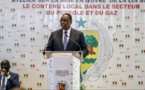 Macky Sall : « Ma volonté est de mettre notre pays à l'abri de convulsions symptomatiques de l'exploitation du pétrole et du gaz... »