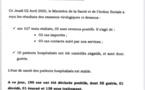 Institut Pasteur : 5 nouveaux cas testés positifs au coronavirus, 10 nouveaux guéris.