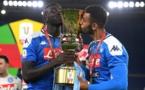Koulibaly vainqueur de la Coupe d'Italie avec Naples