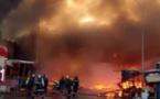 Vidéo- Enorme incendie à Castor avec de fortes détonations