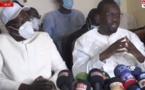 Suivez la conférence de presse de Sonko et Khalifa Sall