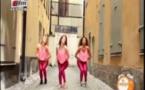 """(Vidéo) A mourir de rire: Quand une toubab danse """"Adji Coumba Tacko…Modji"""" Regardez"""
