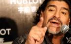 Maradona frappe sa copine: la vidéo de la honte