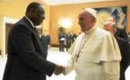 Vatican-audience: Macky Sall reçu par le Pape