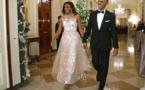 Michelle Obama dans une robe étincelante!