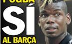 Liga espagnole: Pogba aurait dit oui au Barça pour jouer avec Messi