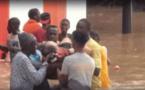 VIDEO: Un Toubab sauvé in extremis des inondations à Thiès, Regardez:
