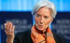 Pour Lagarde, il y a « des raisons d'être inquiet » pour l'économie mondiale