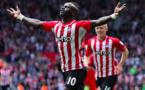 Vidéo-Liverpool 1 – 1 Southampton: Sadio Mané marque et voit rouge