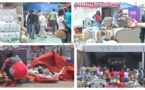 Vidéo-Grave incendie au CICES: Le pavillon vert abrite 80% des marchandises introduites à la FIDAK (Douane)