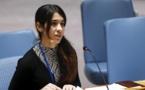 IRAK: La Yézidie Nadia Mourad raconte les viols du groupe Etat islamique( vidéo)