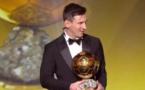 Football: Lionel Messi remporte FIFA Ballon d'Or pour la cinquième fois (video)