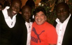 (Photo) Kalidou Fadiga en compagnie des légendes du football: Maradonna, Pelé…