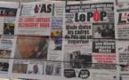 Presse-revue: Economie, Politique et Affaires judiciaires à la Une des quotidiens