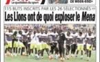 Vidéo de l'entraînement des lions du Sénégal