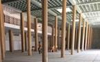 Visite de trois officiels de la 12 ème biennale( 3mai-2 juin): Les choses prennent forme...