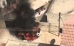 VIDEO: Une BMW X5 prend feu à Sacré Cœur 3