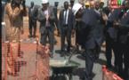 Vidéo- Macky Sall a procédé à la pose de la 1-ère pierre du Palais des sports
