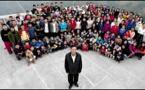 Documentaire sur la plus grande famille au monde: Ziona Chana vit avec 39 Femmes et Il a 98 Enfants(Inde)