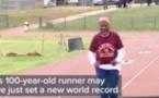 Vidéo: A 100 ans, elle bat le record du monde du 100 m
