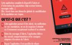 """France: """"SAIP"""", l'application smartphone qui alerte en cas d'attentat ou d'évènement grave"""