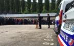 Assassinat du couple de policiers:  minute de silence observée dans tous les commissariats