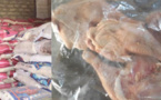 Commerce: Huit tonnes de riz impropres à la consommation et des cuisses de poulet saisies à Saint-Louis