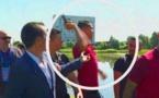 VIDEO-Euro 2016 : excédé, Ronaldo jette dans l'eau le micro d'un journaliste