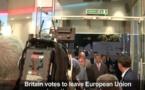 Référendum sur le Brexit: Le Royaume-uni quitte l'Union européenne