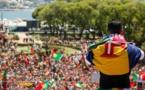 Euro-2016: la bande à Ronaldo adulée par une marée humaine